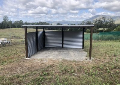 Insulated livestock, wildlife shelters - Widgee Blue Sky Yards