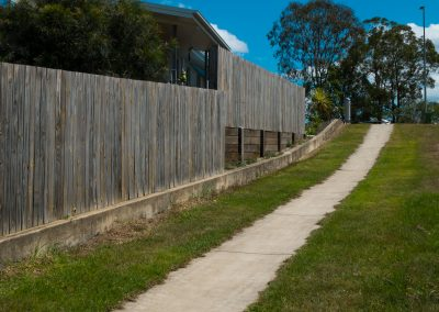 Timber Fencing - Blue Sky Yards